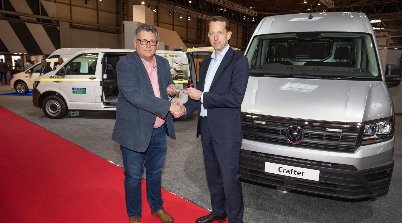 Volkswagen Commercial Vehicles claims two awards from the Trade Van Driver awards.
