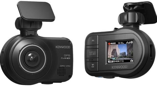 New Approved Volkswagen Integrated Kenwood DRV-410 Dashboard Camera