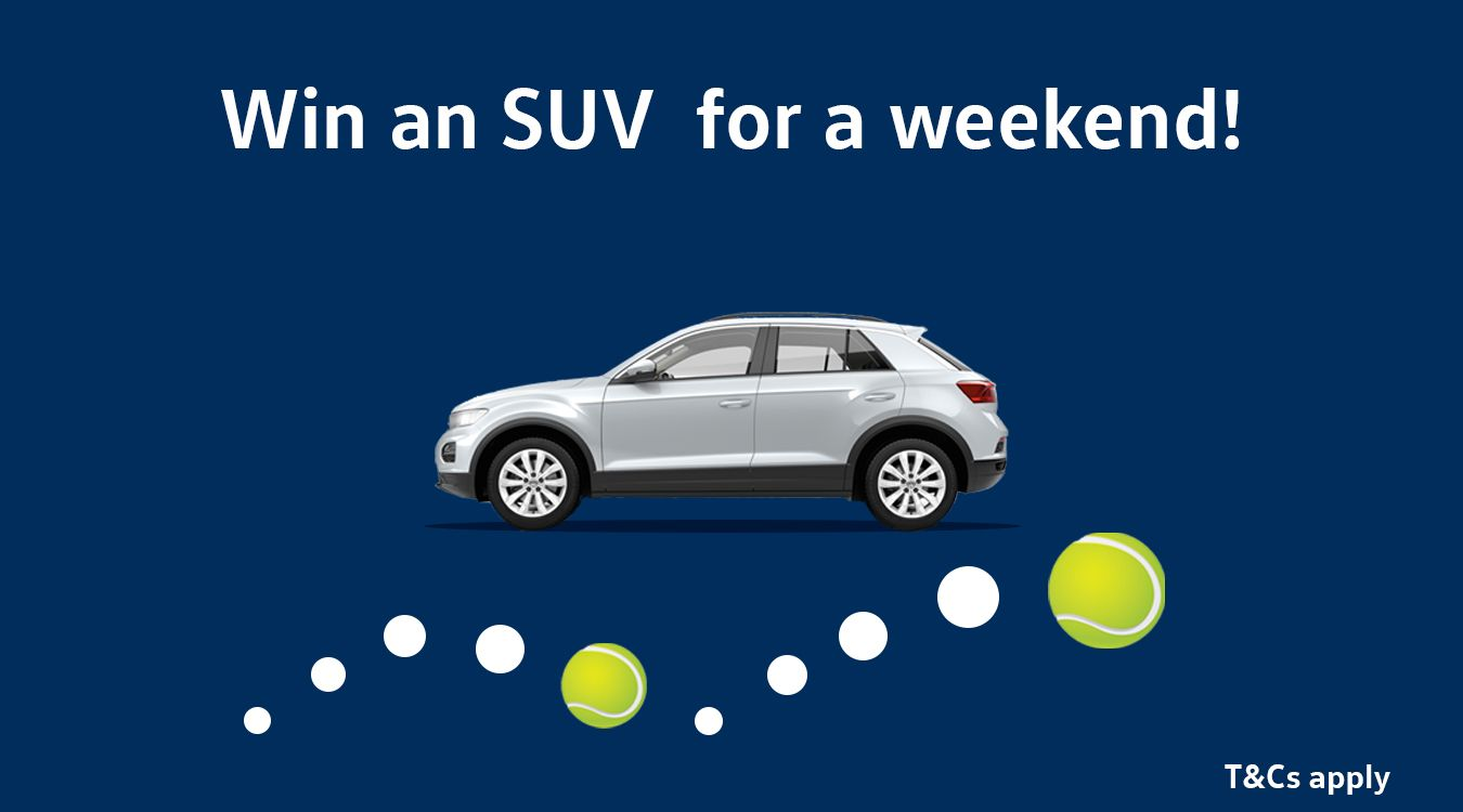 Win an SUV for a weekend!
