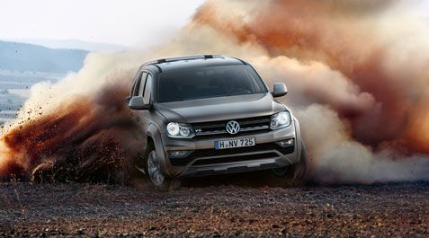 The Amarok Black Edition is open for order