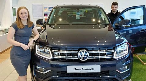 First 2020 trophy for Volkswagen Commercial Vehicles goes to Amarok!