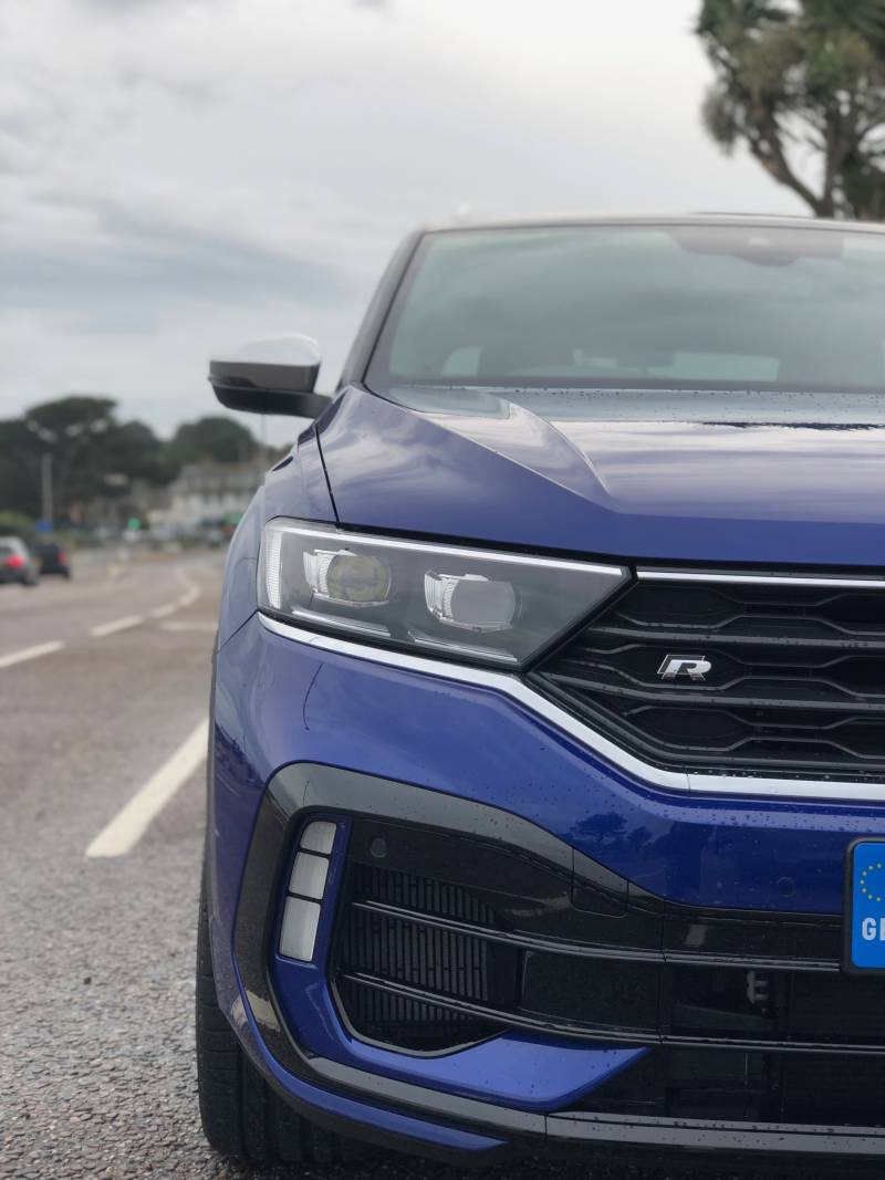 VW T-Roc Blue