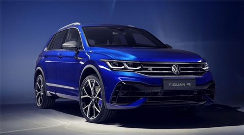 Volkswagen Tiguan R Makes Its Debut!