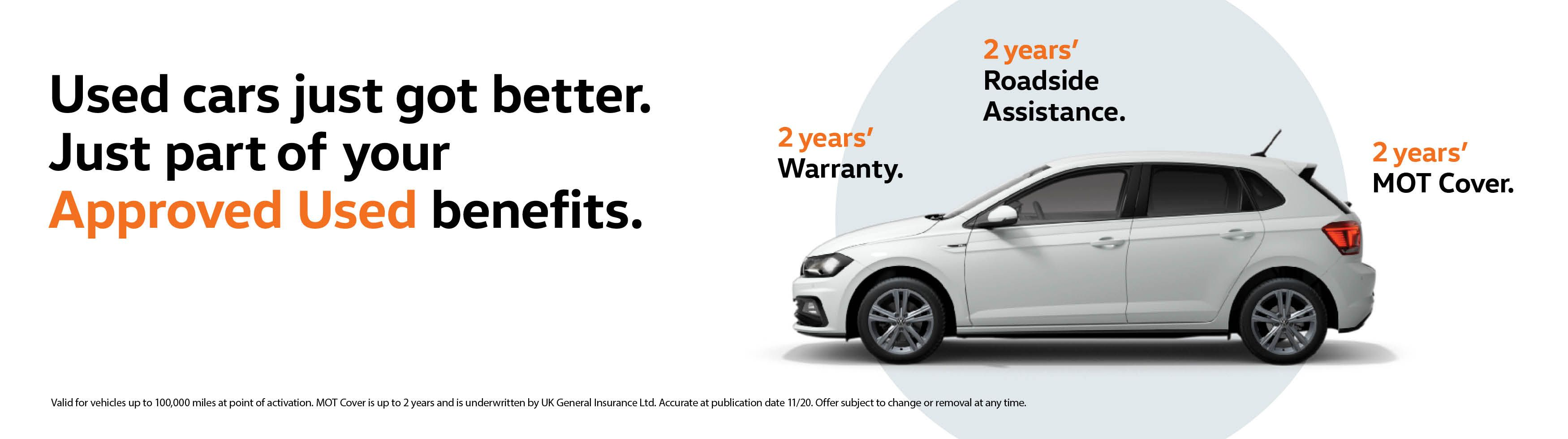 Approved Used cars just got better!