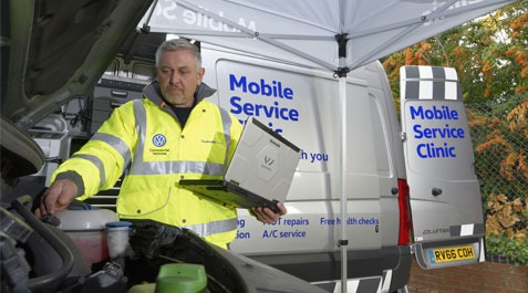 Mobile Service Clinic with Breeze Van Centres