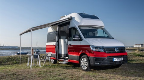 California and Grand California wins awards by The Caravan & Motorhome Club!