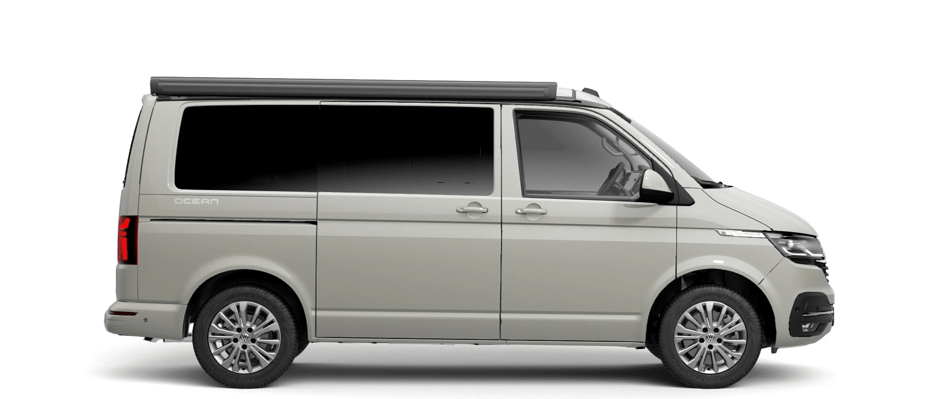 Volkswagen Van Range California - Available In Ascot Grey