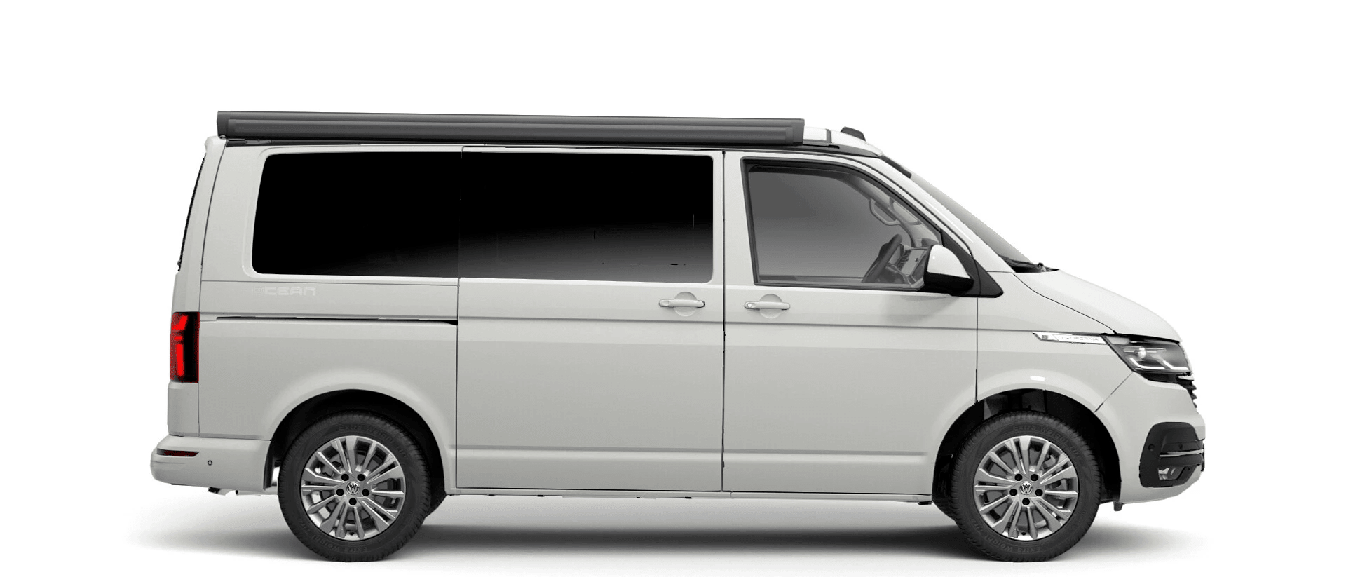 Volkswagen Van Range California - Available In Candy White