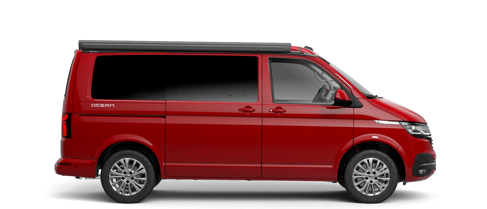 Volkswagen Van Range California - Available In Cherry Red