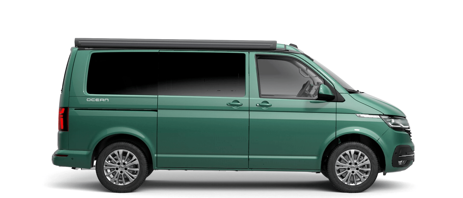 Volkswagen Van Range California - Available In Metallic Bay Leaf Green