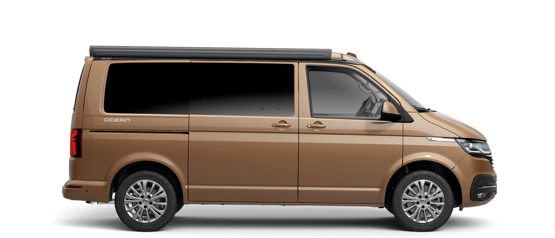 Volkswagen Van Range California - Available In Metallic Copper Bronze