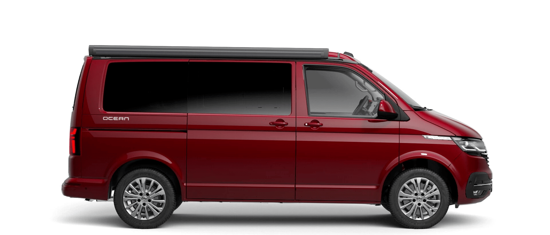 Volkswagen Van Range California - Available In Metallic Fortana Red
