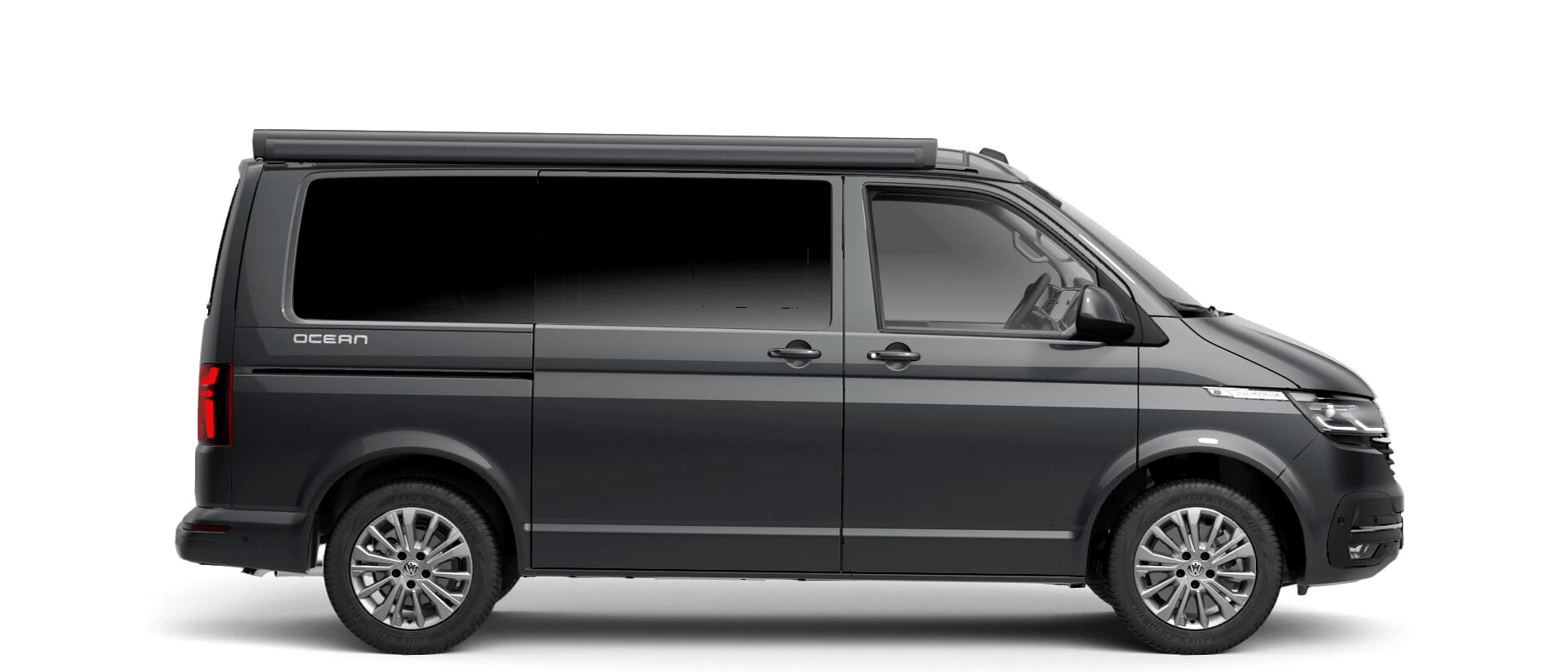 Volkswagen Van Range California - Available In Metallic Indium Grey