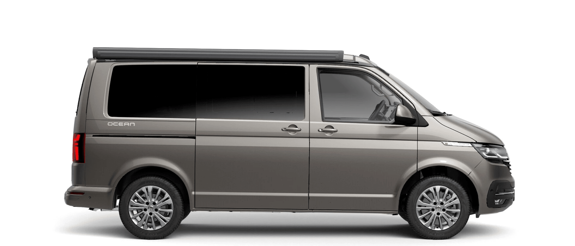 Volkswagen Van Range California - Available In Metallic Mojave Beige