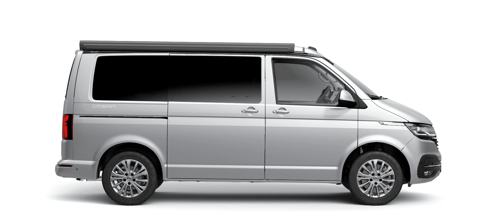 Volkswagen Van Range California - Available In Metallic Reflex Silver