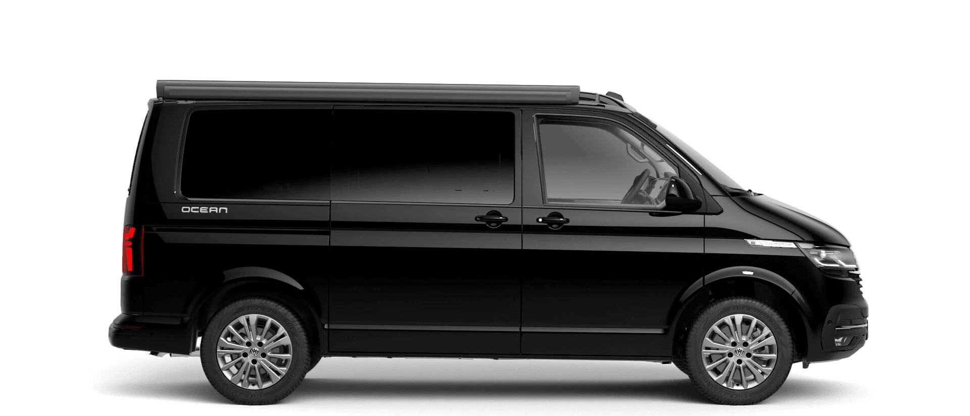 Volkswagen Van Range California - Available In Pearl Deep Black