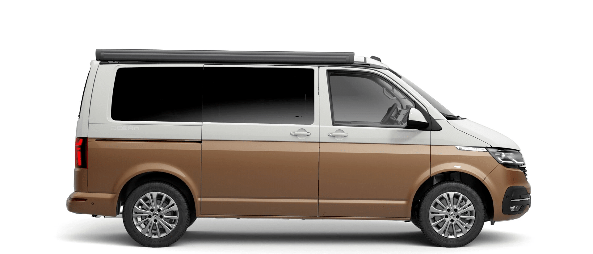 Volkswagen Van Range California - Available In Two Tone Candy White & Metallic Copper Bronze