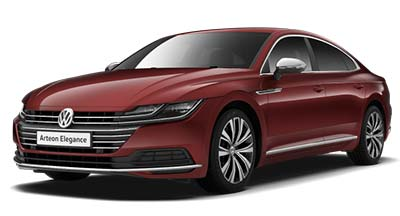 Volkswagen Arteon - Available in Crimson Red