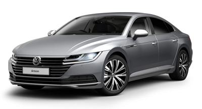 Volkswagen Arteon - Available in Pyrite Silver Metallic