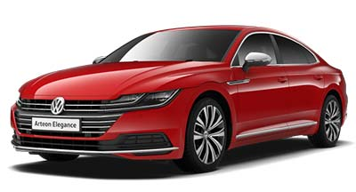 Volkswagen Arteon - Available in Chilli Red