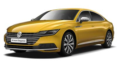 Volkswagen Arteon - Available in Turmeric Yellow
