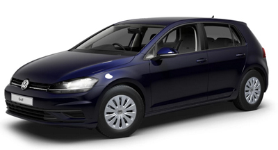 Volkswagen Golf - Available in Atlantic Blue