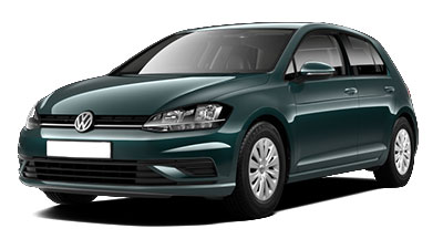 Volkswagen Golf - Available in Peacock Green