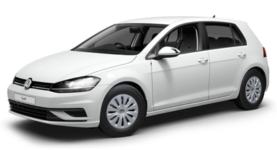 Volkswagen Golf - Available in Pure White