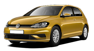 Volkswagen Golf - Available in Turmeric Yellow
