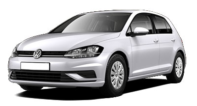 Volkswagen Golf - Available in White Silver
