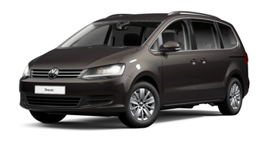 Volkswagen Sharan - Available in Dark Oak Brown Metallic