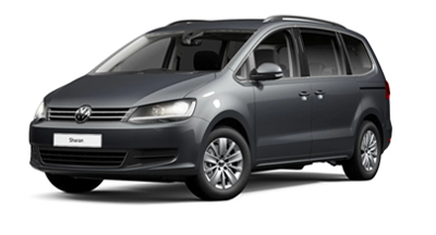 Volkswagen Sharan - Available in Indium Grey Metallic
