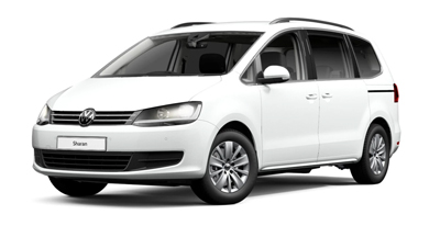 Volkswagen Sharan - Available in Pure White