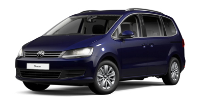 Volkswagen Sharan - Available in Atlantic Blue Metallic