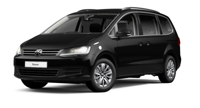 Volkswagen Sharan - Available in Deep Black Pearl