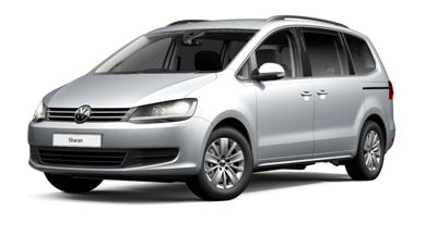 Volkswagen Sharan - Available in Reflex Silver Metallic
