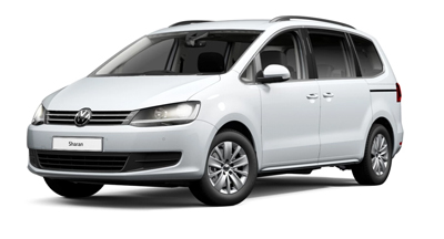 Volkswagen Sharan - Available in White Silver Metallic