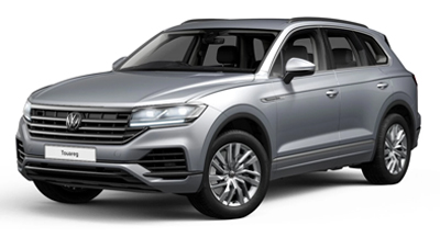 Volkswagen Touareg - Available in Antimonial Silver Metallic