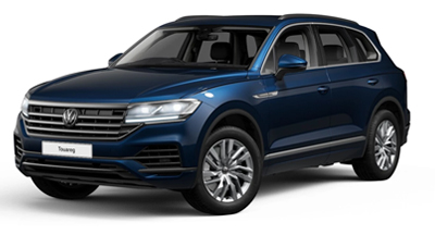 Volkswagen Touareg - Available in Aquamarine Blue Metallic