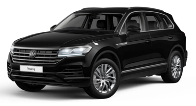 Volkswagen Touareg - Available in Black