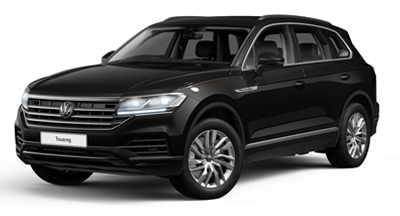 Volkswagen Touareg - Available in Deep Black Pearl