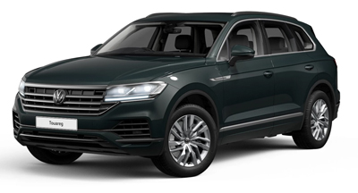 Volkswagen Touareg - Available in Juniper Green Metallic