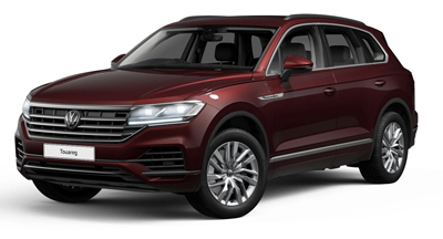 Volkswagen Touareg - Available in Malbec Red Metallic