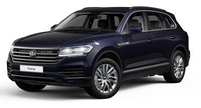 Volkswagen Touareg - Available in Moonlight Blue Metallic
