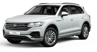Volkswagen Touareg - Available in Oryx White Pearl