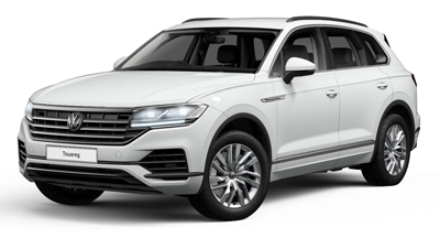 Volkswagen Touareg - Available in Pure White