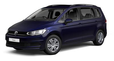 Volkswagen Touran - Available in Atlantic Blue Metallic