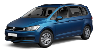 Volkswagen Touran - Available in Caribbean Blue Metallic