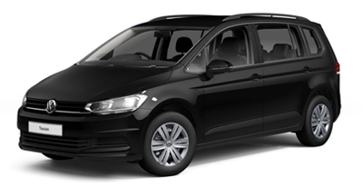 Volkswagen Touran - Available in Deep Black Pearl