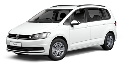 Volkswagen Touran - Available in Pure White